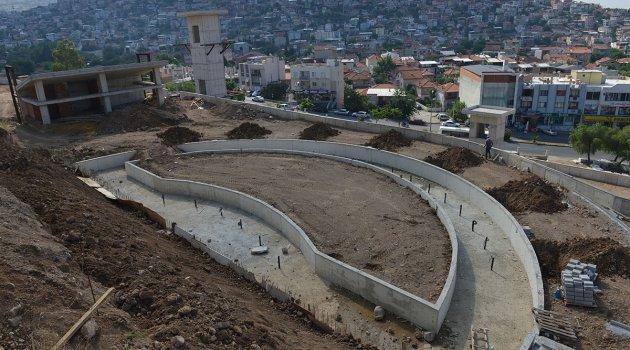 75. Yıl Türk Dünyası Parkı Yapımı Devam Ediyor