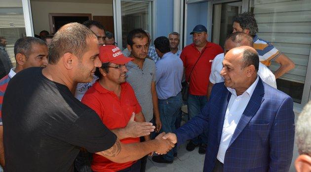 Başkan Arslan Personelin Ramazan Bayramı'nı Kutladı