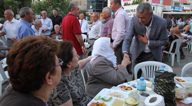 Gaziemir'de Ramazan Ayı'nın son iftarı