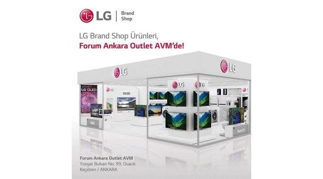 LG, Ankara'da Yeni Bir LG Brand Shop Daha Açtı!
