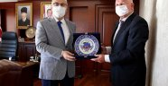 Başkan Karakayalı'dan Vali Köşger'e ziyaret