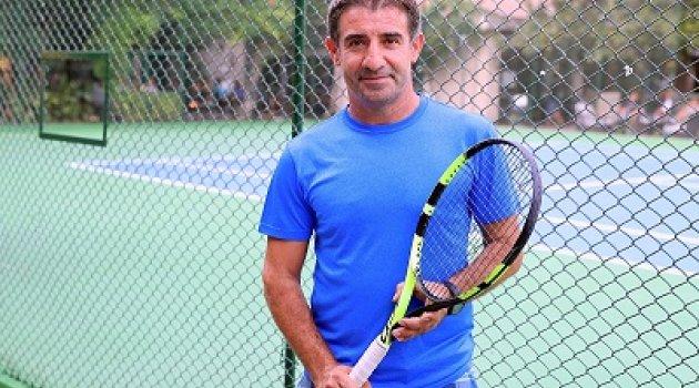 Tenis Turnuvası'nda heyecan devam ediyor